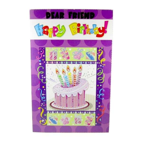 Greeting cards buy friend birthday cards online at giftdecorshop greeting cards greeting cards for birthday multi for friend birthday greeting card m4hsunfo